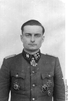"""Lt. Colonel (Obersturmbannführer) Waffen-SS Manfred Schönfelder, 5. SS-Panzer-Division """"Wiking"""", 23 February 1944."""