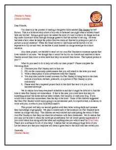 Flat stanley letter education pinterest flat stanley maxwellsz