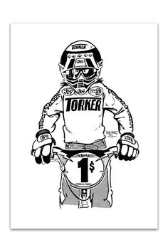 BH BMX Torker Rider - Bob Haro Design