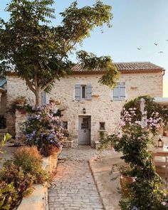 Beautiful Villas, Beautiful Places, Island Beach, Exterior Design, Future House, Countryside, Scenery, Sweet Home, Backyard
