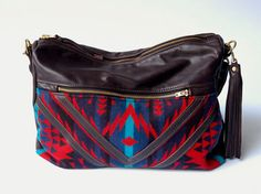 The Buena Vista Social Bag (hobo, cross body bag). $260.00, via Etsy.