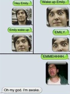 Waking up your girlfriend…