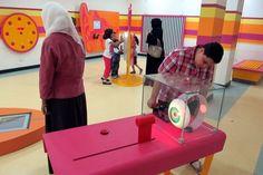 Bahrain Science Centre, Manama >> Concept, Design & Build of initial exhibitry