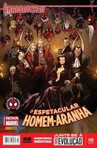 LIGA HQ - COMIC SHOP HOMEM ARANHA NOVA FASE #10 AMIGAO DA VIZINHANÇA PARA OS NOSSOS HERÓIS NÃO HÁ DISTÂNCIA!!!