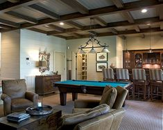 Basement Basement Ceiling Design, Pictures, Remodel, Decor and Ideas - page 7