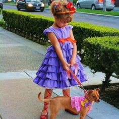 Nancy from Jane O'Connor and Robin Preiss Glasser's Fancy Nancy | 49 Awesomely Clever Halloween Costumes For Book Lovers