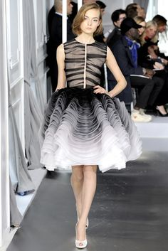 Christian Dior Spring 2012 Couture Fashion Show - Nimue Smit