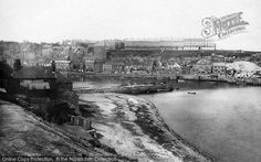 Photo of Whitby, From Tate Hill 1885 from Francis Frith Old Pictures, Yorkshire, Paris Skyline, Travel, Art, Art Background, Antique Photos, Viajes, Kunst