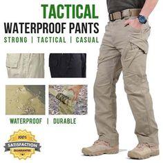 Men's Plus Size Autumn Waterproof Tactical Pants Tactical Cargo Pants, Tactical Gear, Tactical Uniforms, Plus Size Herbst, Cargo Work Pants, Cargo Jacket, Bomber Jacket, Combat Pants, Military Pants