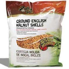 Zilla English Walnut Shell Ground 25 Qt.