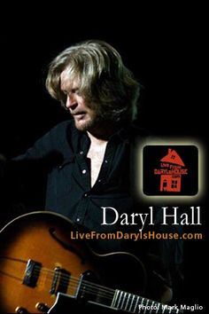 Live from Daryl's House . . . monthly web series featuring Daryl Hall (without Oates).  Awesome cover songs!