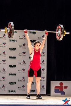 Claudie Vaillancourt - Haltérophilie catégorie 63kg - Jeux du Québec 2017 à Alma - Médaillée d'or