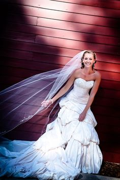 Stunning photo of a bride in her gown | @Dave DiLauro