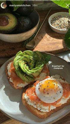 Healthy Desayunos, Plats Healthy, Healthy Snacks, Healthy Eating, Healthy Recipes, Breakfast Healthy, Healthy Cooking, Wallpaper Food, Comida Diy