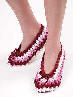 Easy Slippers to Crochet-Annie's Catalog
