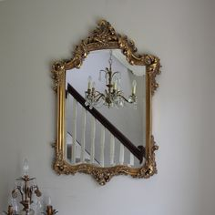 Large Ornate Gold Wall Mirror Http Www Melodymaison Co Uk