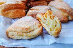 Biscotti morbidi sfogliati chig'anoq pechenyelar, biscotti al formaggio fresco cremoso, ricetta facile, veloce, ottimi per la colazione o la merenda, ricetta tedesca