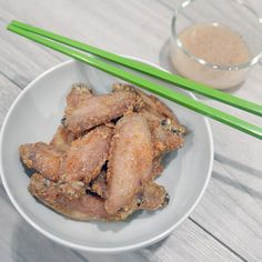 Over Fried Chicken, Fried Chicken Wings, Chicken Wing Marinade, Chicken Wing Recipes, Vancouver Food, Cambodian Food, Phnom Penh, Gluten Free Chicken, Yum Yum Chicken