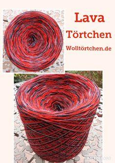 50% (Merino) Schurwolle/ 50% Polyacryl-Hochbausch 3-fädig, 100g ca. 460 m Ll Ndl.: 2,5-3,5 Farben: Rot, schwarz, Grau  Dieses Garn ist herrlich weich, warm und kuschelig ...