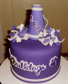 RES Bulldogs cake By CakesbyKat on CakeCentral.com