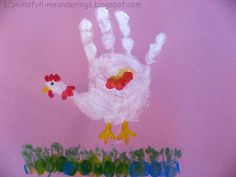 Handprint Chicken