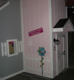 under the stairs playhouse Under Stairs Playhouse, Playhouse Ideas, Kids Play Spaces, Playhouses, Playrooms, Basement Remodeling, Girl Stuff, Kids Playing, My House