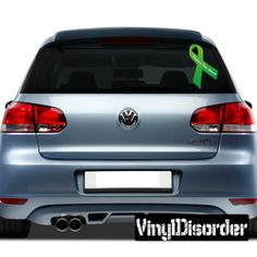 "3"" Starting at $2.50  Mitochondrial Disease Awareness Ribbon Vinyl Wall Decal or Car Sticker"