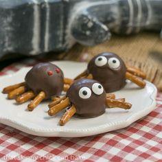 Potato Candy Spiders #SundaySupper
