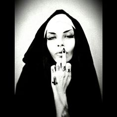 Artistic Fashion Photography, Alone In The Dark, Darkness Falls, Chicano Art, Most Beautiful Faces, Satan, Photo Art, Middle Fingers, Ticks