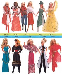 Barbie Doll catalogues 1979-1980.