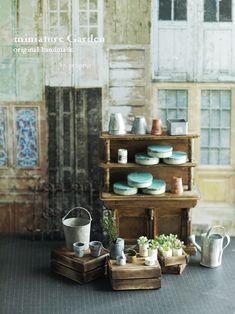 アンティーク風な miniature*小物。 と、増上寺。 : natural色の生活~handmade家具