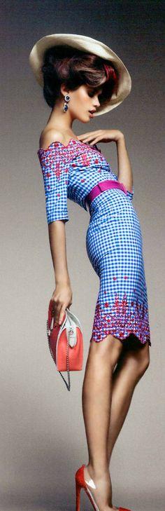 Leuk. Sara Sampaio Vogue Magazine 2 :: Photo by Luis Monteiro