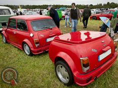 Morning Miniacs We get the wheels rolling with a cool Towin It Tuesday ERA Turbo Combo! Have a great day folks, wherever your wheels take you to. Campers World, Small Campers, Mini Clubman, Mini Coopers, Rover Mini Cooper, Classic Mini, Mini Me, Cool Walls, Weird