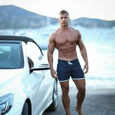 Michael Thurston In Shorts - Perfect Body