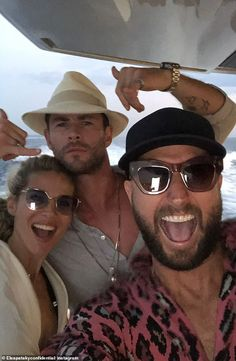 Elsa Pataky, the wife of Hollywood star Chris Hemsworth, has kicked off her birthday celebrations several days early. 50th Birthday Cakes For Men, 40th Birthday Quotes, 50th Birthday Gag Gifts, Wife Birthday, Happy Birthday Images, Happy Birthday Greetings, Chris Hemsworth, Elsa Pataky, Best Husband