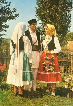 Serbian traditional costume from Kordun (Croatia)