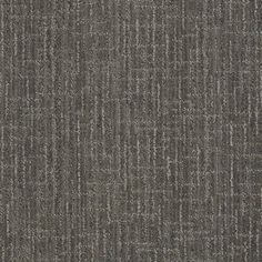 STAINMASTER Active Family Unquestionable Power Gray Cut and Loop Indoor Carpet