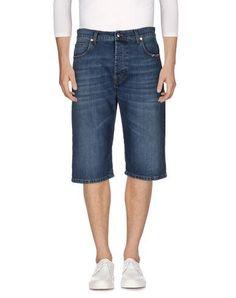 MCQ BY ALEXANDER MCQUEEN 牛仔短裤. #mcqbyalexandermcqueen #cloth #top #pant #coat #jacket #short #beachwear
