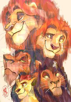 lionking by sasamaru-lion on DeviantArt