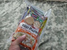 Make your own MREs for a fraction of the cost. Great for camping or long term food storage