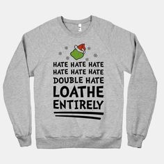 Loathe Entirely #grinch #christmas #hate One of my favorite Christmas movies!