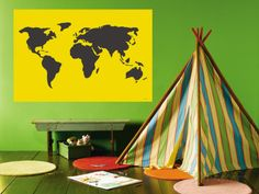 Yellow World Wall Mural by Avalisa at AllPosters.com