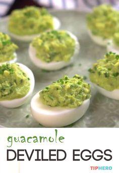 Guacamole Deviled Eggs                                                                                                                                                      More