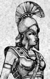 272 BC: Spartan princess Arachidamia was one of a number of Spartan princesses who led female troops. She acted as captain of a group of women warriors who fought Pyrrhus during his siege of Lacedaemon. Pyrrhus was killed by a woman.