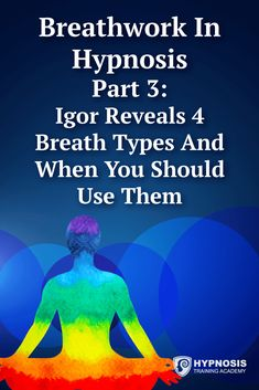 In Part 3 of breathwork in hypnosis, master hypnotist Igor Ledochowski discusses 4 breath types & when you should use them. Want You Quotes, Learn Hypnosis, Make Him Want You, Addicted To You, Brain Science, Breathing Techniques, Hypnotherapy, Psychic Abilities, How To Find Out