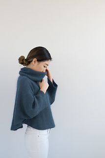 Cirrus pattern by Nancy O'Connell for Shibui Knits. Would use Shibui Knits Pebble and Silk Cloud yarn held together! So soft perfect for winter!