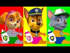 Baby Learn Colors, Paw Patrol, Bad Baby Cry Babies, Baby Bottle, Learn Colours for Kids, Preschool - YouTube