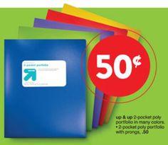 FREE Up & Up Pocket Folder at Target after Coupon!