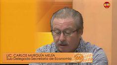 Entrevista a Carlos Murguía Mejía de Economía en Mexicali