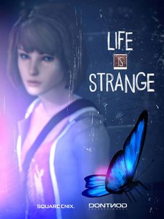 Life Is Strange, the butterfly effect Life Is Strange Wallpaper, Life Is Strange Fanart, Life Is Strange 3, Strange Art, Overwatch, Arcadia Bay, Dontnod Entertainment, Butterfly Effect, Gaming